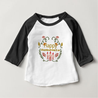 Happy Thanksgiving Fall Festival Baby T-Shirt