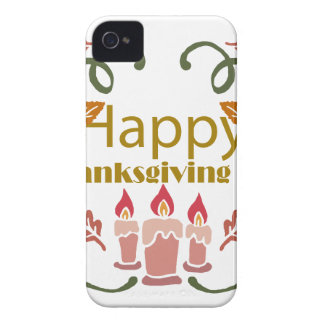 Happy Thanksgiving Fall Festival iPhone 4 Covers