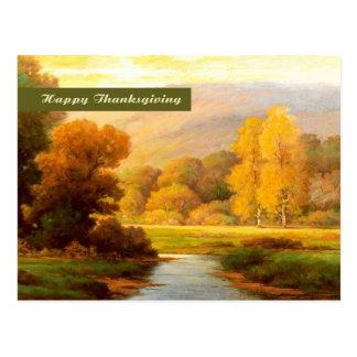 Happy Thanksgiving. Fine Art Postcard