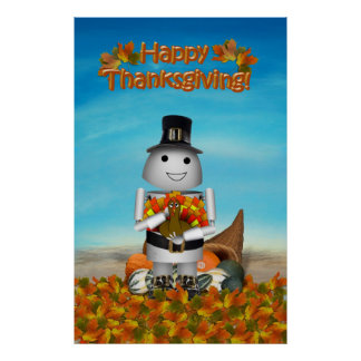 Happy Thanksgiving from Robo-x9 Print