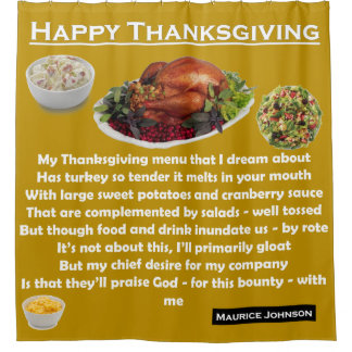 Happy Thanksgiving - Gold