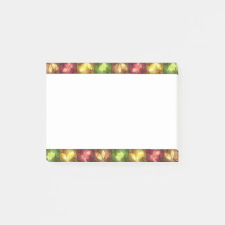 Happy Thanksgiving Grunge Leaves - Post-it® Notes