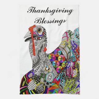 Happy Thanksgiving Kitchen Towel (Customizable)