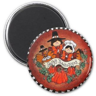Happy Thanksgiving Magnet