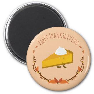 Happy Thanksgiving Pie Slice | Magnet