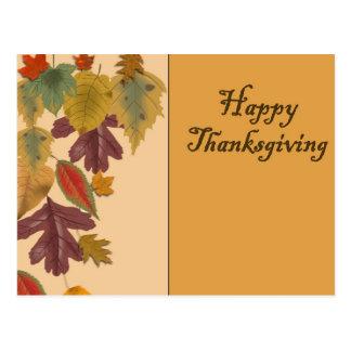 Happy Thanksgiving Postcard