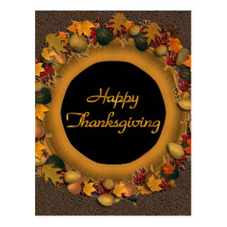 Happy Thanksgiving Post Card
