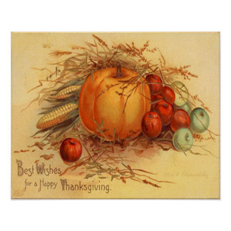 Happy Thanksgiving! Poster