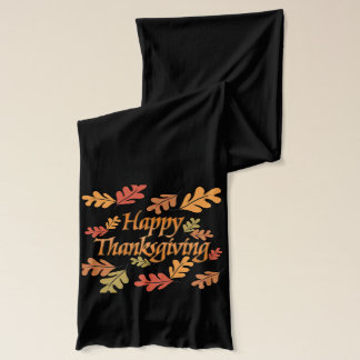 Happy Thanksgiving Scarf