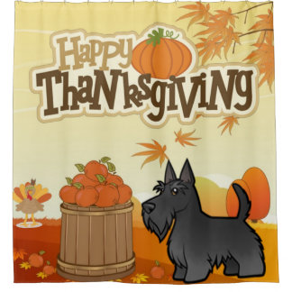 Happy Thanksgiving Scottish Terrier