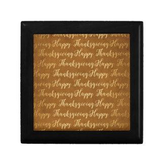 Happy Thanksgiving scripture Gift Box