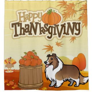 Happy Thanksgiving Shetland Sheepdog