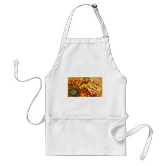Happy Thanksgiving Sunflower Standard Apron