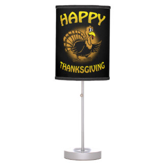 Happy Thanksgiving Table Lamp