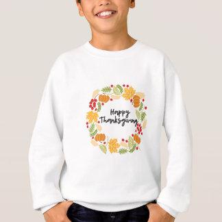HAPPY THANKSGIVING, Thanksgiving Wreath, Cute Sweatshirt
