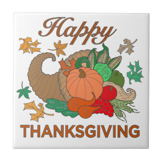 Happy Thanksgiving Tiles