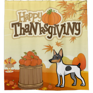 Happy Thanksgiving Toy Fox Terrier