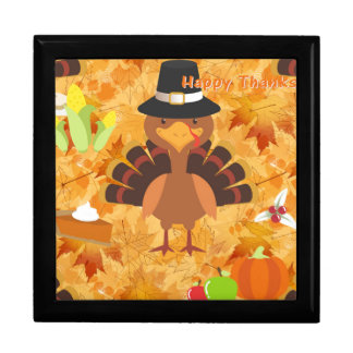 happy thanksgiving turkey gift box