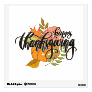Happy Thanksgiving Wall Sticker