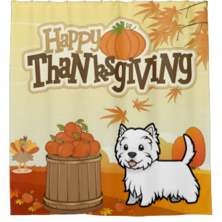 Happy Thanksgiving West Highland Terrier