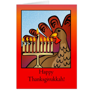 Happy Thanksgivukkah! Card