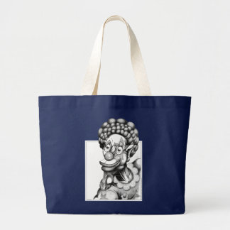 Happy the Clown Large Tote Bag