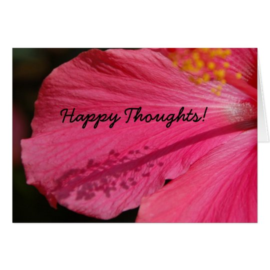Happy Thoughts! Card