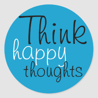 Happy Thoughts Stickers