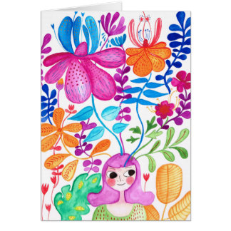 Happy Thoughts when I think of you Card