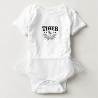 happy tiger baby bodysuit