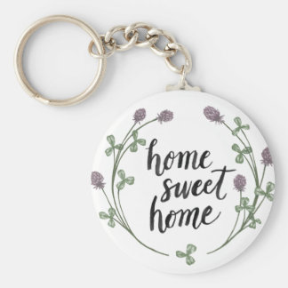 Happy to Bee Home Words I | Home Sweet Home Keychain