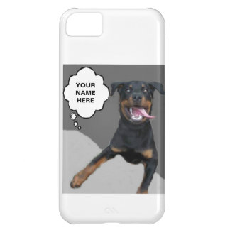 HAPPY TO PROTECT YOUR PHONE DOG IPHONE CASE