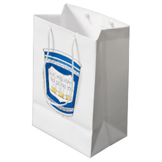 Happy to Serve Greek NYC Diner Coffee Cup Gift Bag