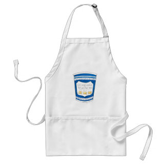 Happy To Serve You Greek Diner Coffee Cup Apron