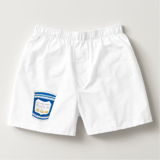 Happy to Serve You Greek Diner Coffee Cup Boxers