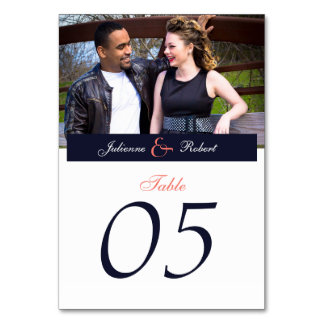 Happy Together | Photo Wedding Table Cards