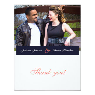 "Happy Together | Photo Wedding ""Thank You"" Card"