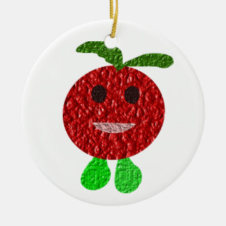 Happy Tomato Custom 7th Birthday Ornament
