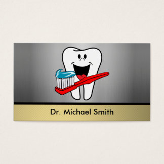 Happy tooth business card