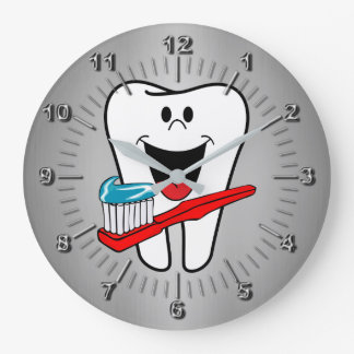 Happy tooth clock