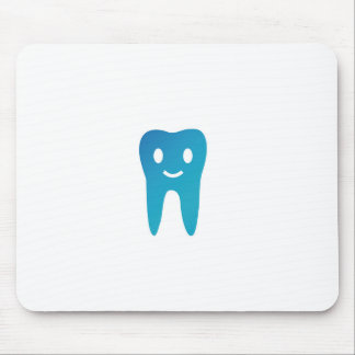 Happy tooth mouse pad