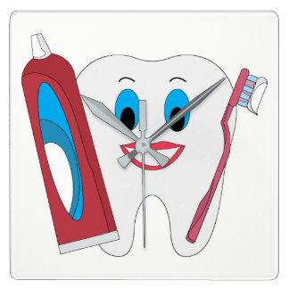 Happy Tooth Wallclocks