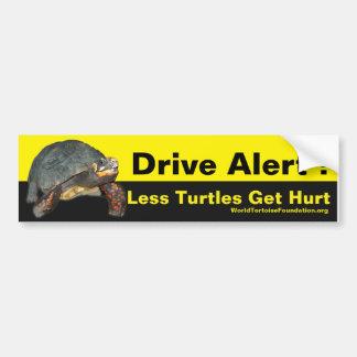 Happy Tortoise Car Sticker