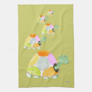 Happy Tortoise Kitchen Towel