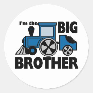 Happy Tracks Big Brother Stickers