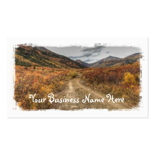 Happy Trail Business Card Template