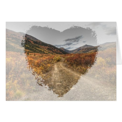 Happy Trail; Customizable Greeting Card
