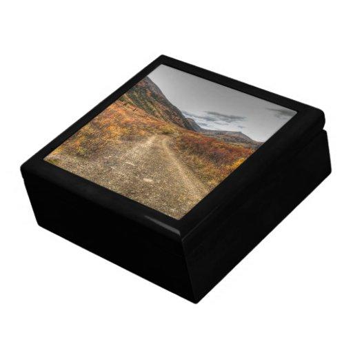 Happy Trail Trinket Box