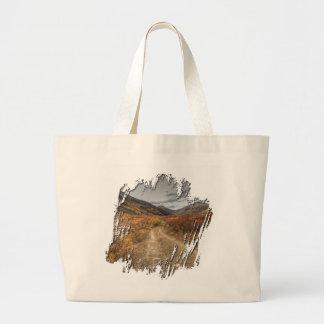 Happy Trail Jumbo Tote Bag