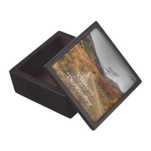 Happy Trail; Yukon Territory Souvenir Premium Gift Box